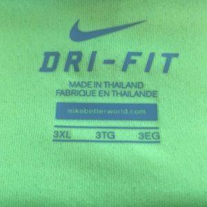 Ladies Nike dri-fit 3x top